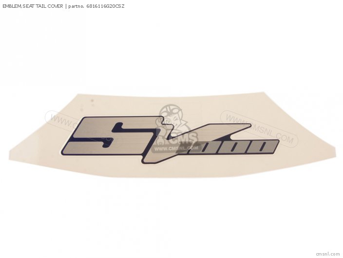 EMBLEM SEAT TAIL COVER