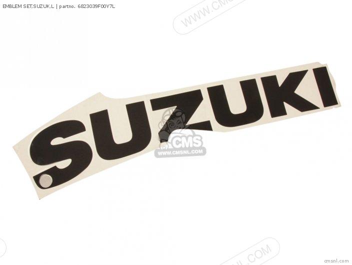 Emblem Set, Suzuk, L photo