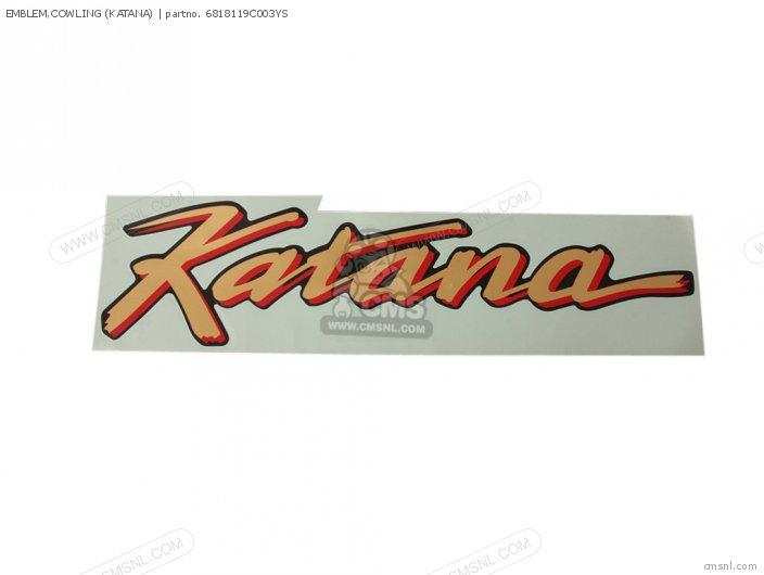 Emblem, Cowling (katana) photo