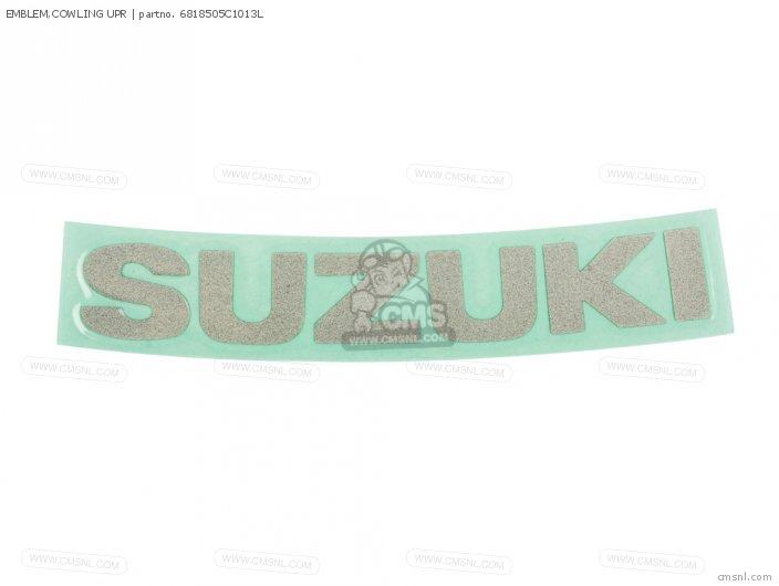 Emblem, Cowling Upr photo