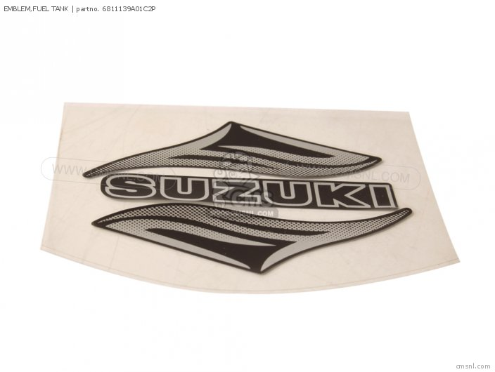 New Genuine OEM Part 68111-38A00-22Z Suzuki Emblem,fuel tank 6811138A0022Z