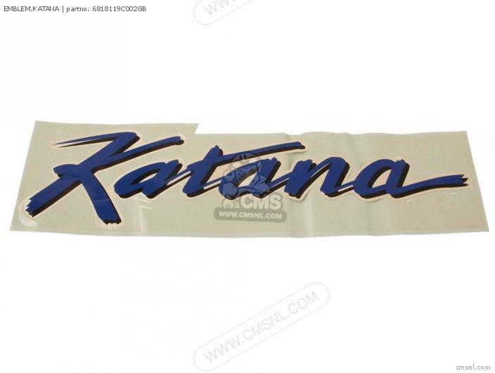 Emblem, Katana photo