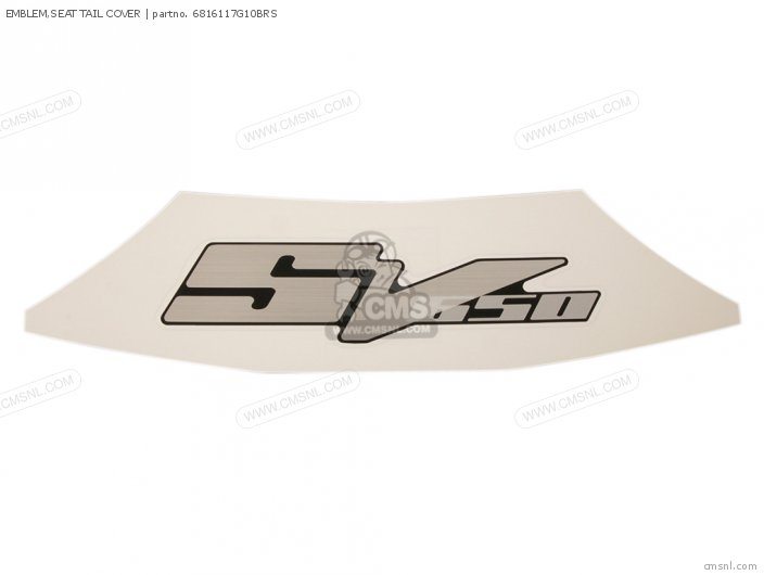 Emblem, Seat Tail Cover photo