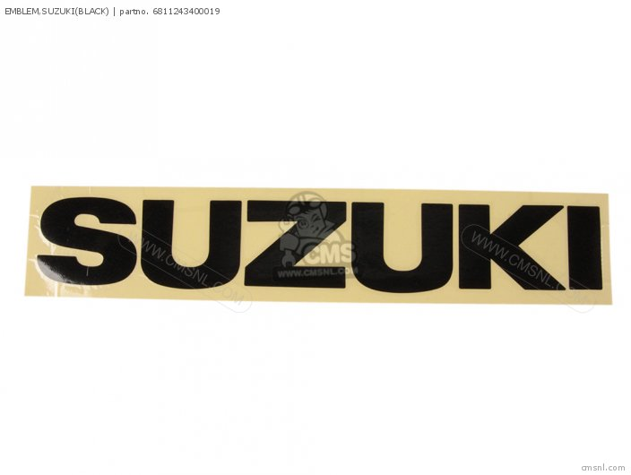 Emblem, Suzuki(black) photo