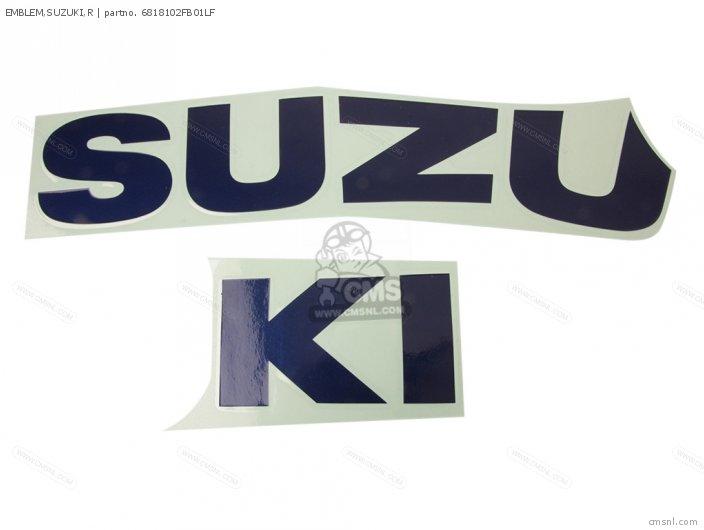 Emblem, Suzuki, R photo