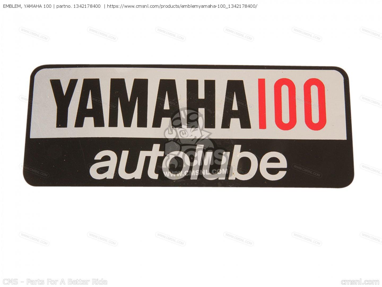 emblem, yamaha 100 yl1 twinjet 1966 1967 usa 1342178400