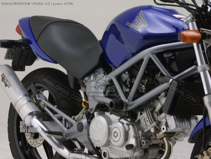 ENGINE PROTECTOR VTR250(- 07)