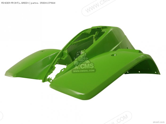 Fender-front, L.green photo