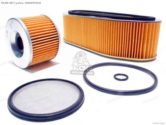 Cb750f2 Supersport general Export Kph Filter Set
