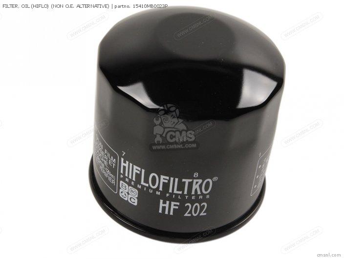 FILTER, OIL (HIFLO) (NON O.E. ALTERNATIVE)