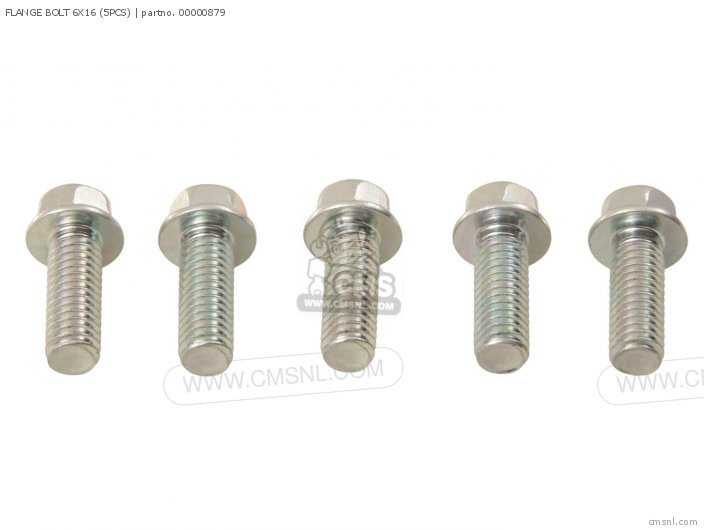 Flange Bolt 6x16 (5pcs) photo