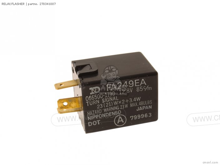 1985 ZX750-E2 GPz 750 Turbo FLASHER RELAY
