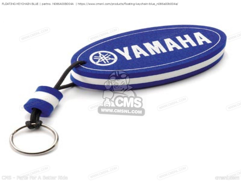 N086a00b004a Floating Keychain Blue Yamaha Buy The N08