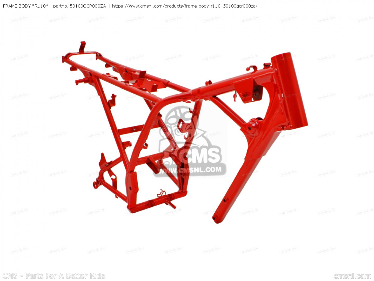 FRAME BODY *R110*, fits CB50V DREAM JAPAN (11GCRVJ3) - order at CMSNL