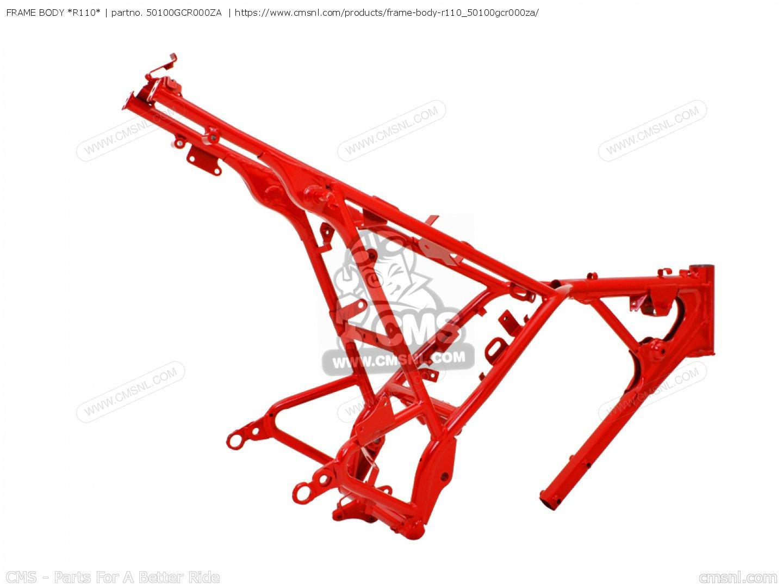 Frame Body R110 Cb50v Dream Japan 11gcrvj3 50100gcr000za
