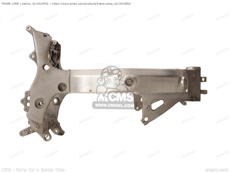 FRAME COMP for GSX1300R HAYABUSA 1999 (X) USA (E03) - order at CMSNL