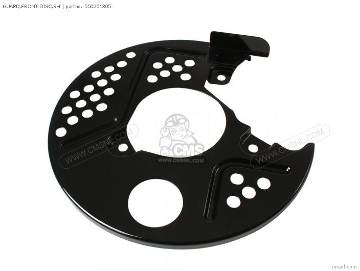 FRONT DISC GUARD RH