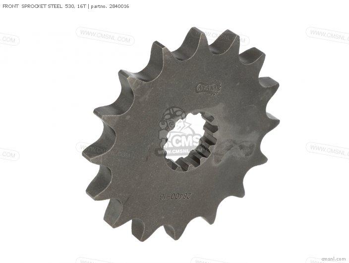 Front  Sprocket Steel  530, 16t photo