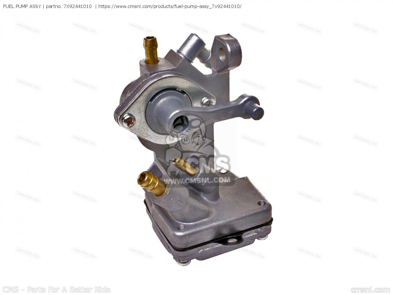 Fuel pump assy ef600 generator 7x92441010 for Ef600 yamaha generator