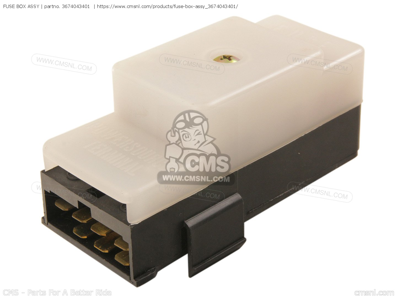 FUSE BOX ASSY for GS550ES GS550ESE GS550EF GS550ESF GS550ESG 83-86 (D-G)  USA (E03) - order at CMSNLCmsnl.com