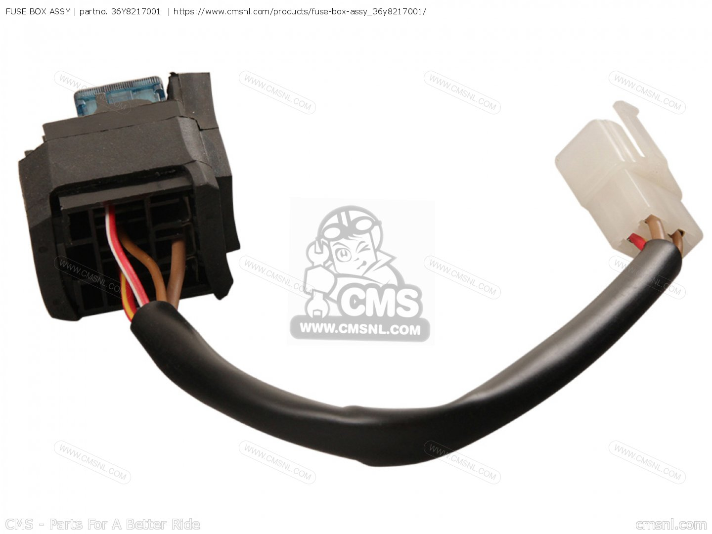 Fuse Box Assy For Fj1100 1985 Usa Order At Cmsnl Adapter Small Image Of