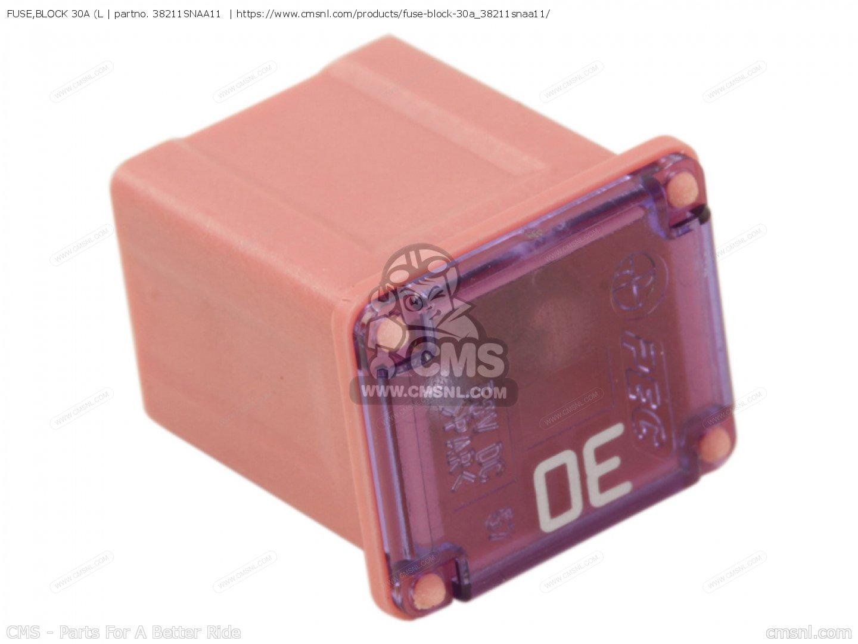 Goldwing Gl1800 Fuse Box Electrical Wiring Diagram 2001 Honda 1800 Fuseblock 30a L Fits Gold Wing 2008 8 England Kmh 2012