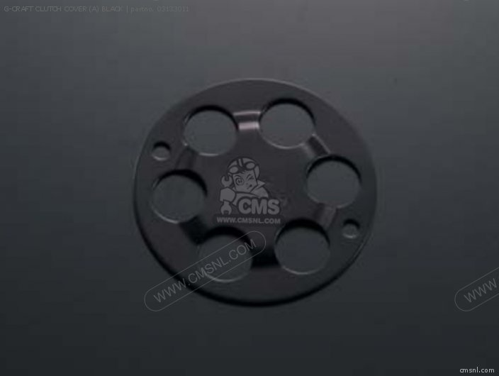 G-craft Clutch Cover (a) Black photo