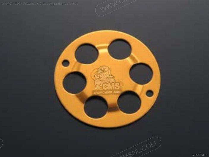 G-craft Clutch Cover (a) Gold photo