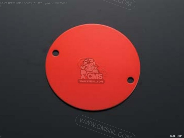 G-craft Clutch Cover (b) Red photo