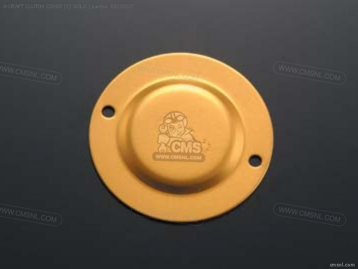 G-craft Clutch Cover (c) Gold photo