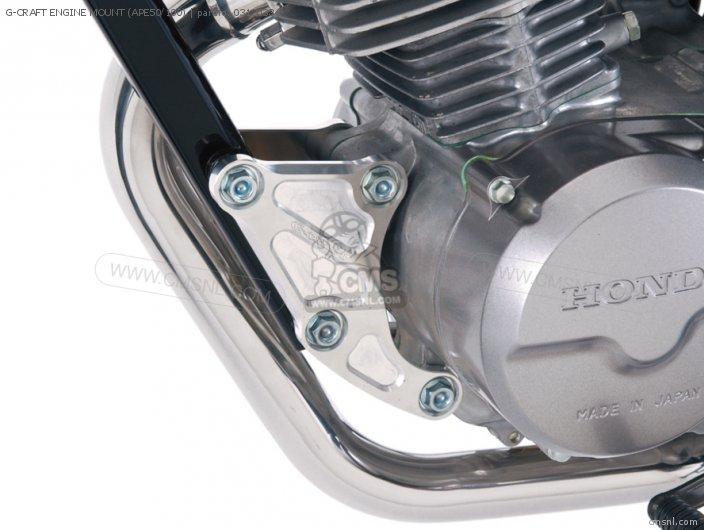 G-CRAFT ENGINE MOUNT (APE50/100)