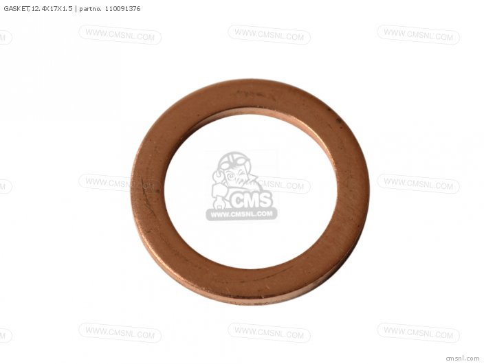 Gasket,12.4x17x1.5 (nas) photo