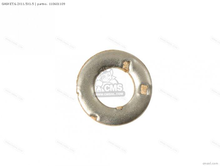 Klf220-a9 Bayou220 1996 Usa Canada Gasket 6 2x11 5x1 5