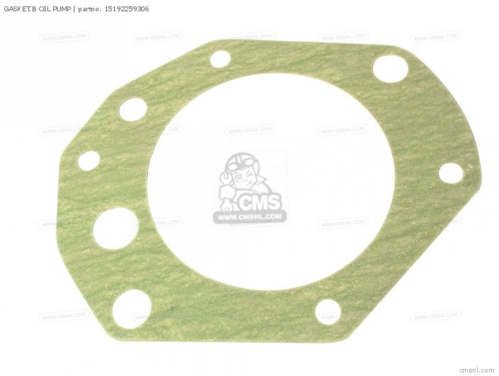 GASKET,B OIL PUMP