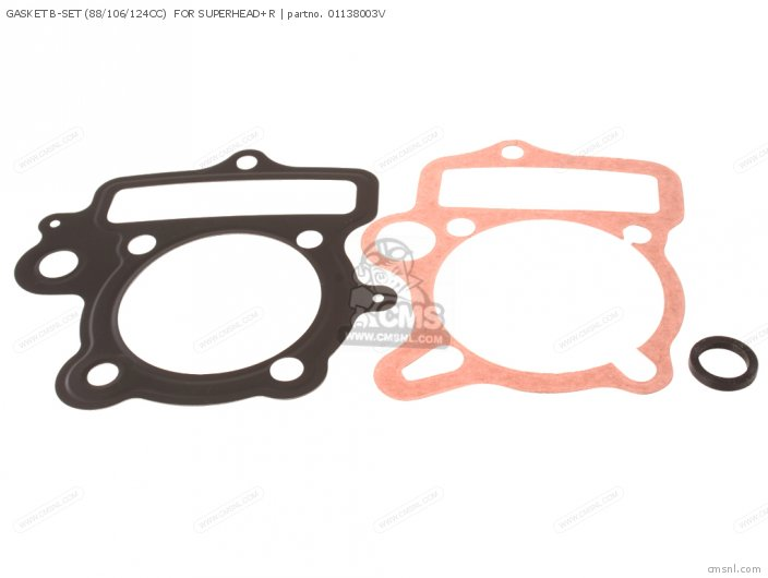 GASKET B-SET 88 106 124CC FOR SUPERHEAD+R