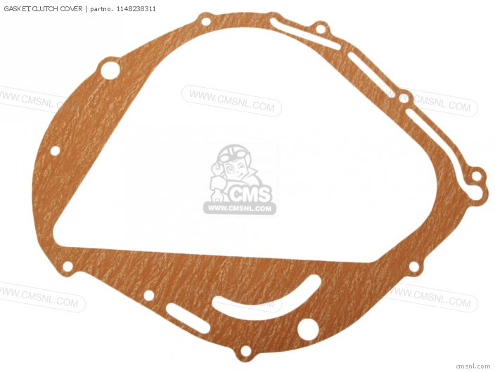 GASKET CLUTCH COVER NAS