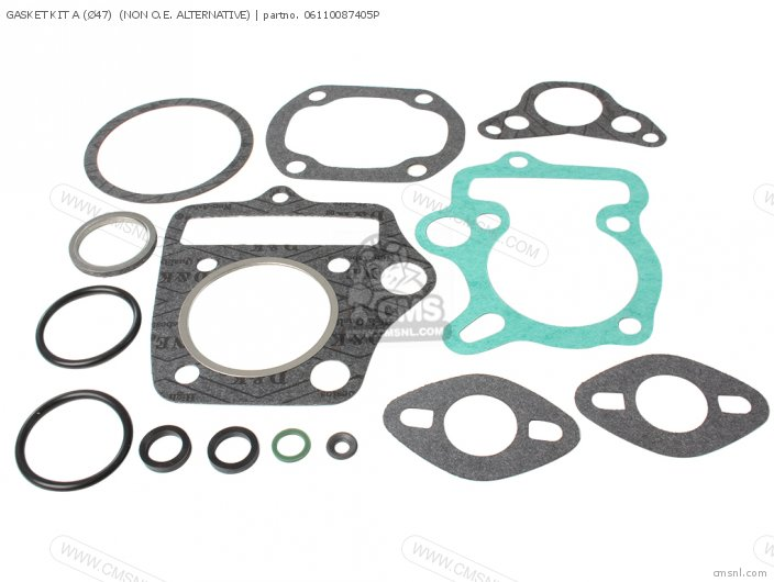 GASKET KIT A NON O E  ALTERNATIVE 47MM