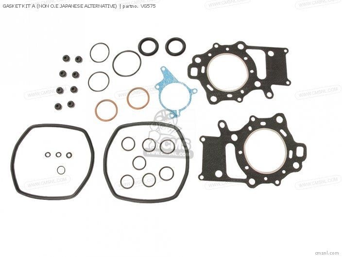 GASKET KIT A (NON O.E JAPANESE ALTERNATIVE)