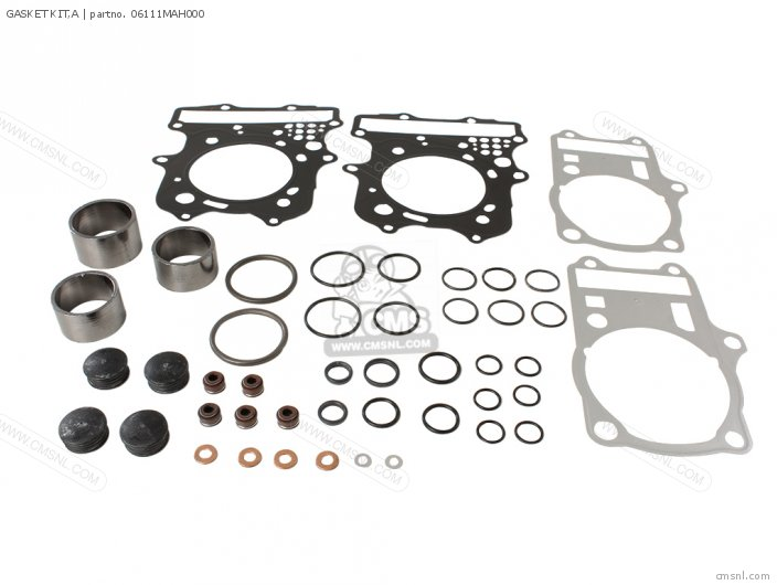 Vt1100c2 Shadow Ace 1996 t Usa California Gasket Kit a