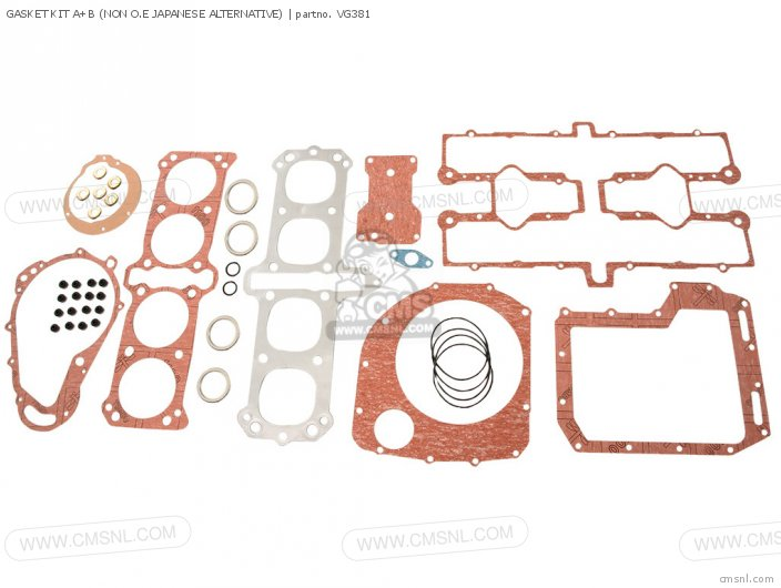 Gasket Kit A+b (non O.e Japanese Alternative) (nas) photo