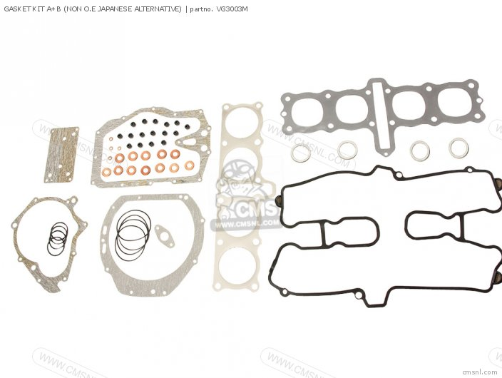 GASKET KIT A+B NON O E JAPANESE ALTERNATIVE