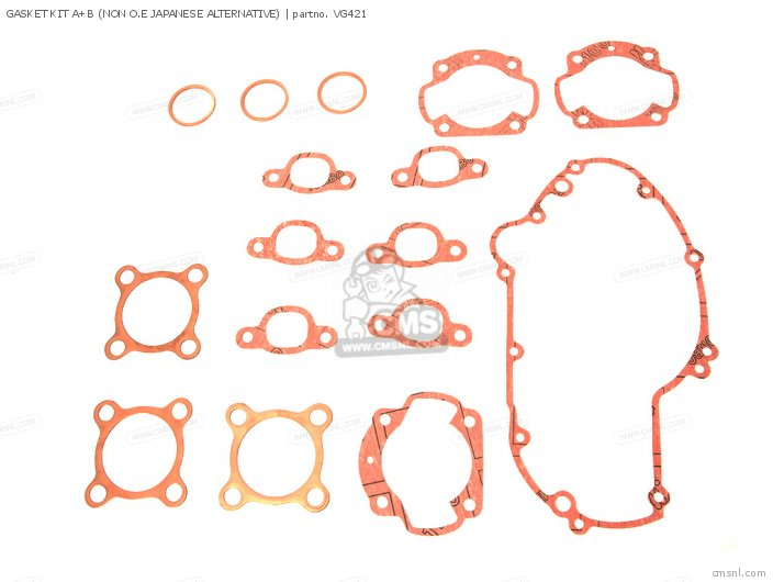 GASKET KIT A+B (NON O.E JAPANESE ALTERNATIVE)