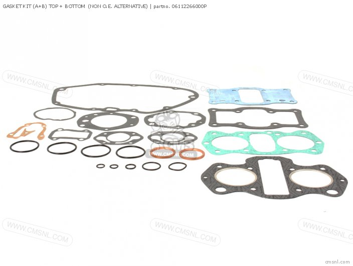 Gasket Kit (a+b) Top + Bottom  (non O.e. Alternative) (nas) photo