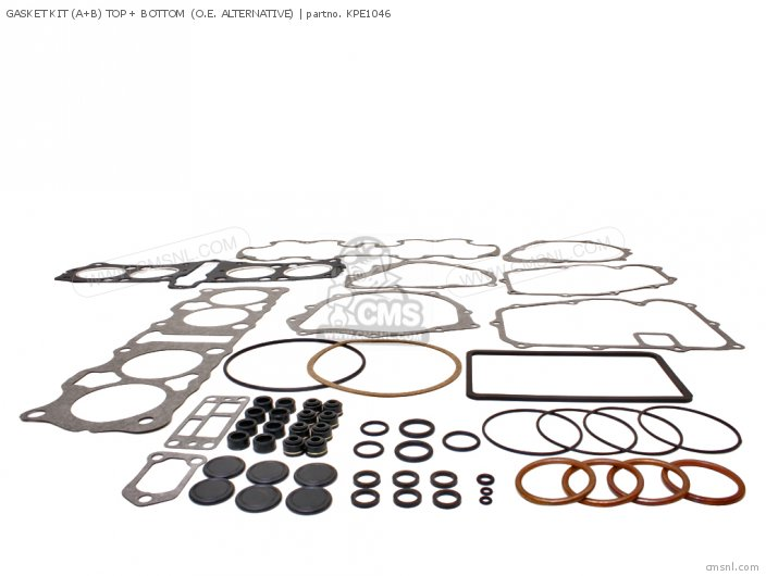 GASKET KIT A+B TOP + BOTTOM  O E  ALTERNATIVE
