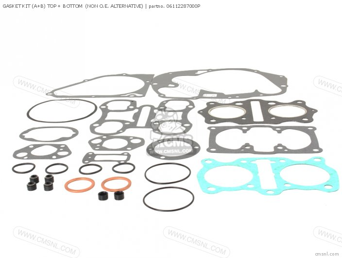 GASKET KIT A+B TOP + BOTTOM  REPRODUCTION