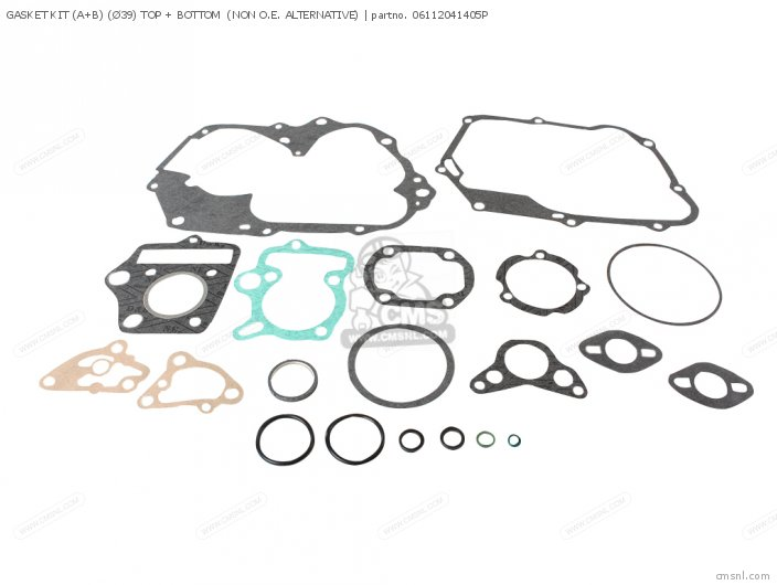Custom Parts Gasket Kit A+b