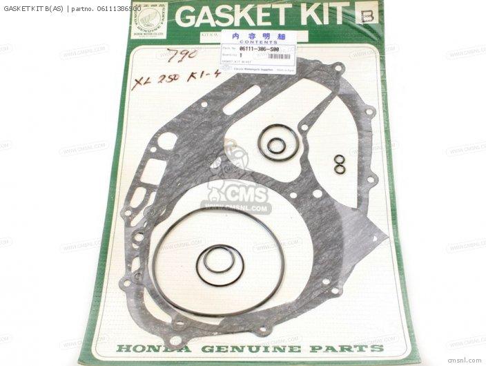 Xl250 Motosport 1976 Usa Gasket Kit Bas