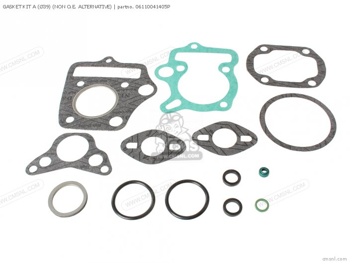 C50 france Gasket Kit a non O e  Alternative 39mm
