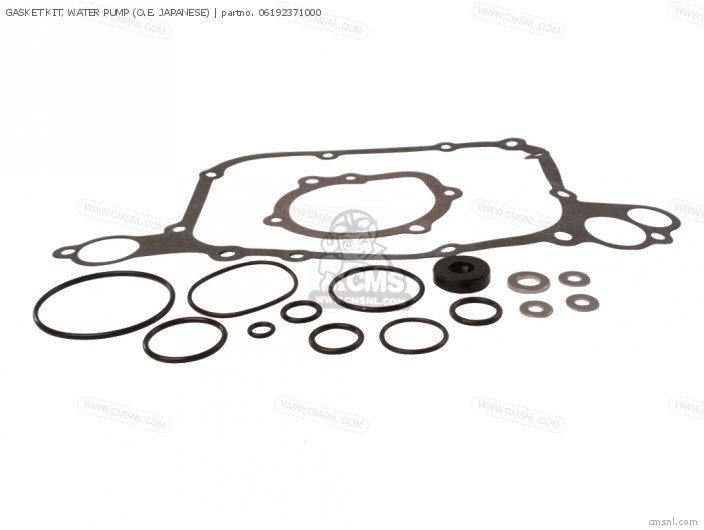 Gasket Kit, Water Pump (o.e. Japanese) photo