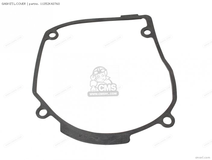 Cr125r 1985 Usa Gasket l cover